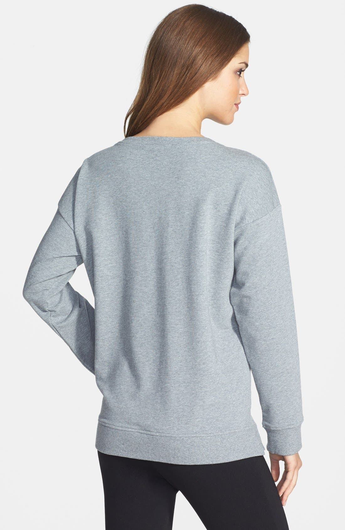 Alternate Image 2  - Two by Vince Camuto Embellished Sweatshirt