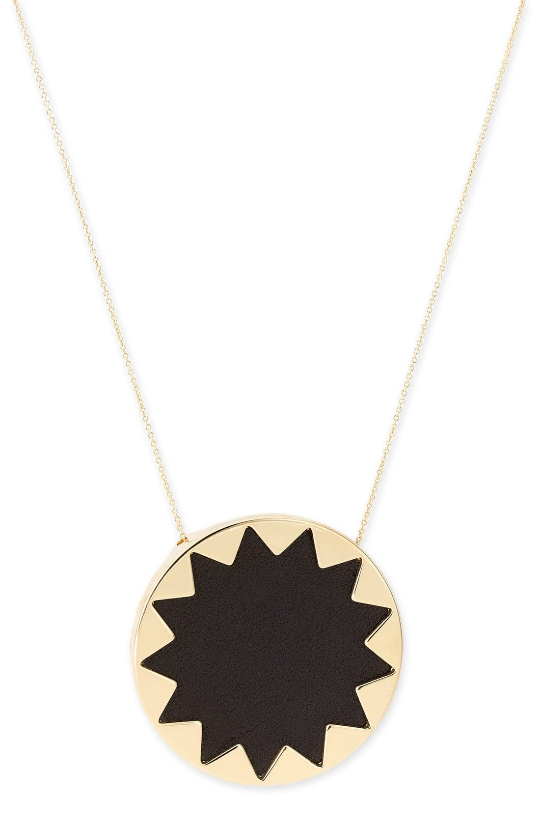 Alternate Image 2  - House of Harlow 1960 Sunburst Pendant Necklace