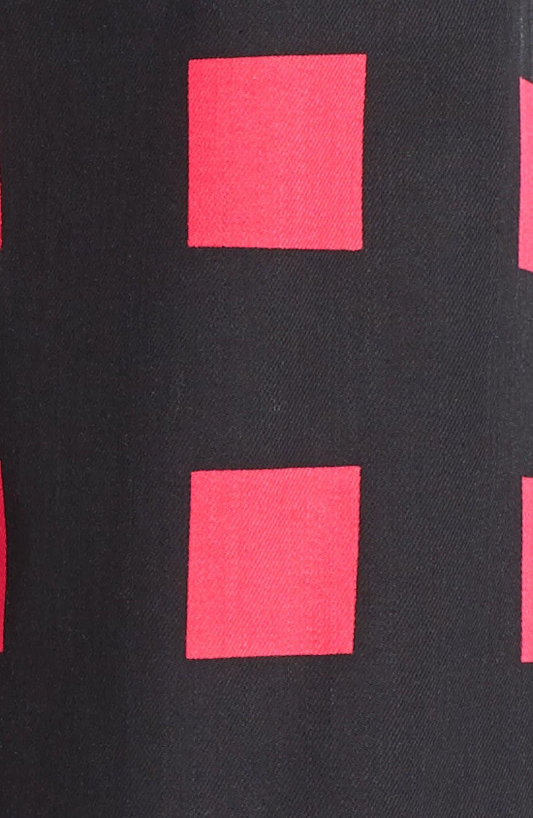 Alternate Image 3  - KENZO Square Print Crop Jeans