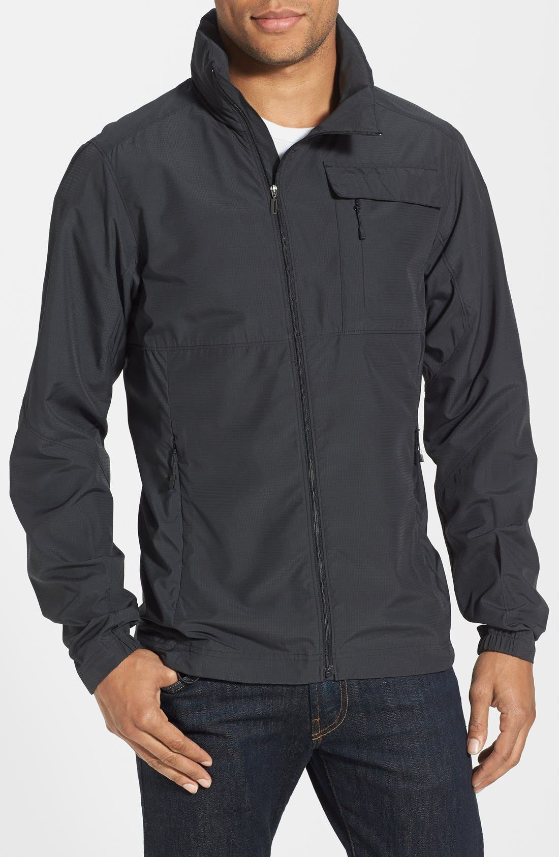 Alternate Image 1 Selected - Nau 'Lightbeam' Water Resistant Full Zip Jacket