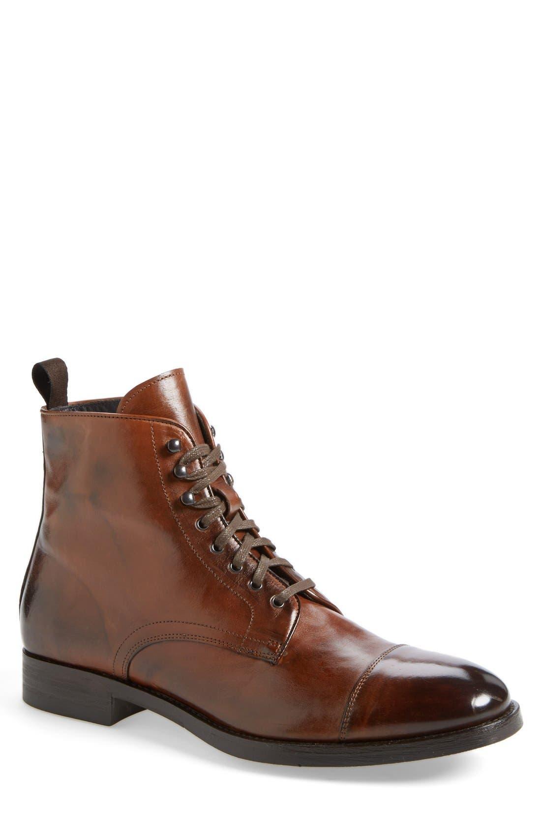 Main Image - To Boot New York 'Stallworth' Cap Toe Boot (Men)