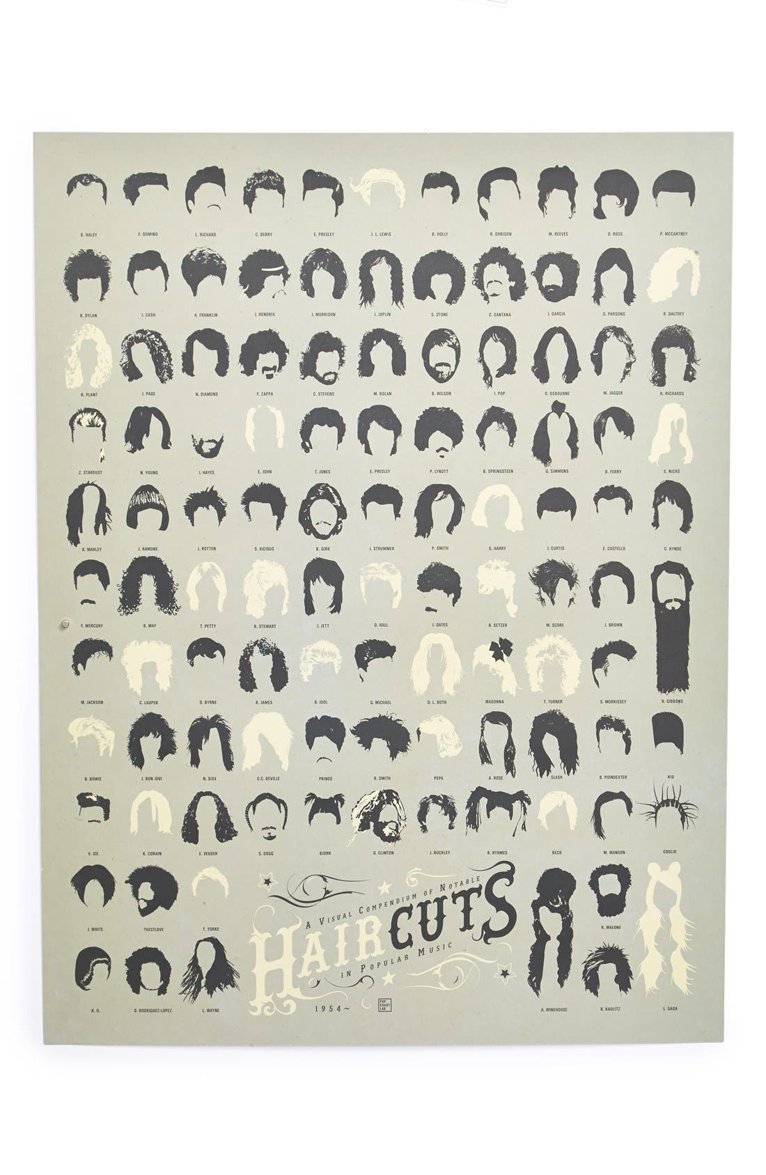 Alternate Image 1 Selected - Pop Chart Lab 'Haircuts' Print