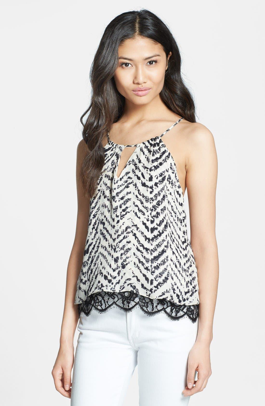 Main Image - Parker 'Gully' Silk & Lace Camisole