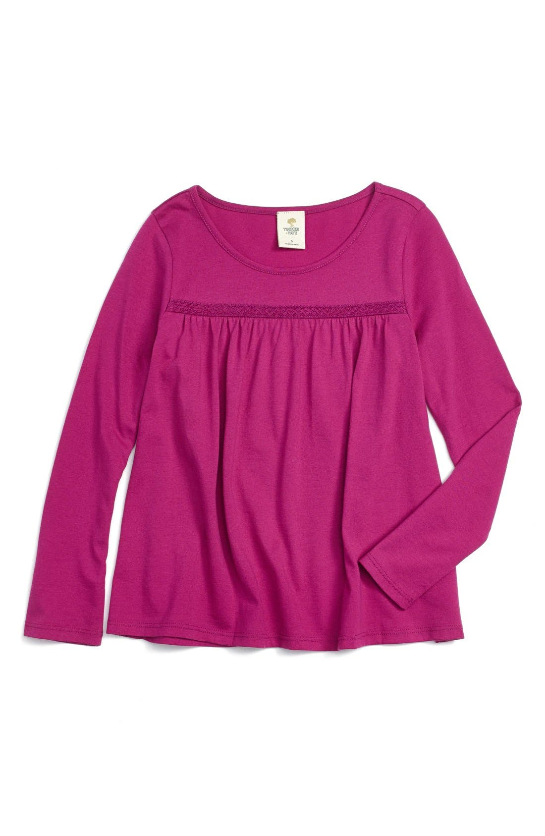 Alternate Image 1 Selected - Tucker + Tate 'Patty' Long Sleeve Tee (Toddler Girls, Little Girls & Big Girls)