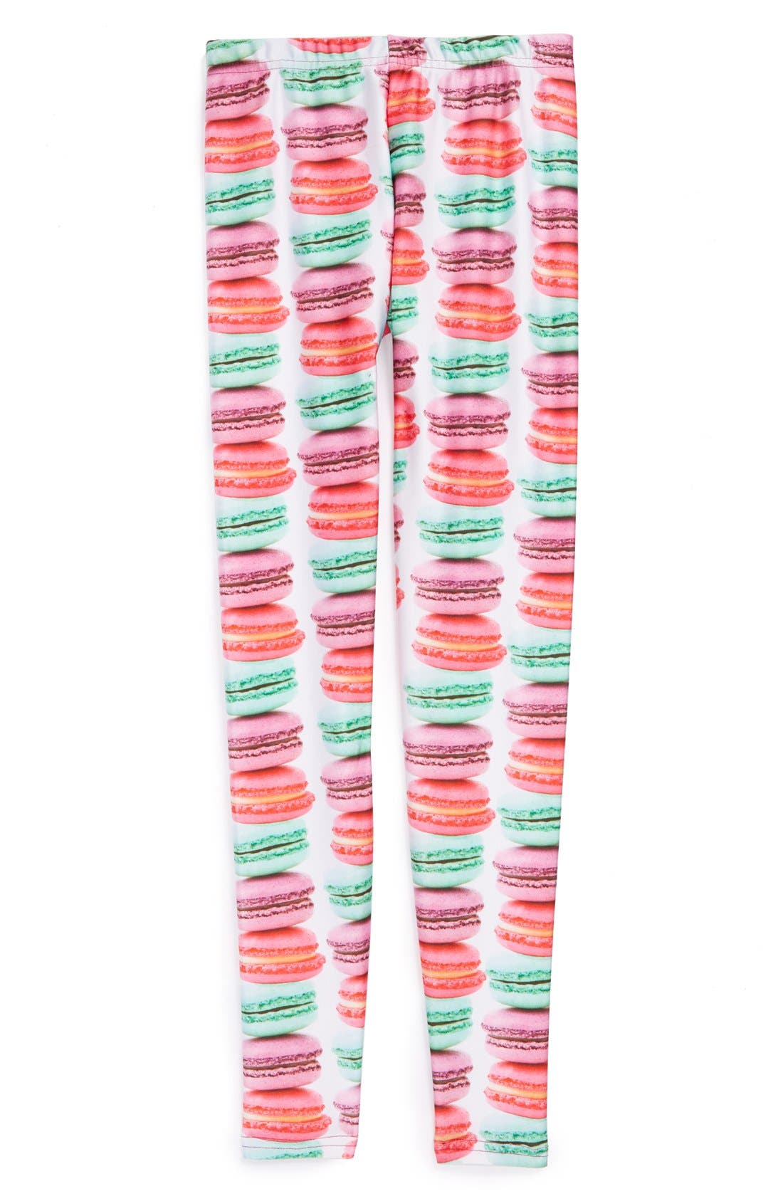 Alternate Image 1 Selected - Terez 'Macaroons' Leggings (Big Girls)