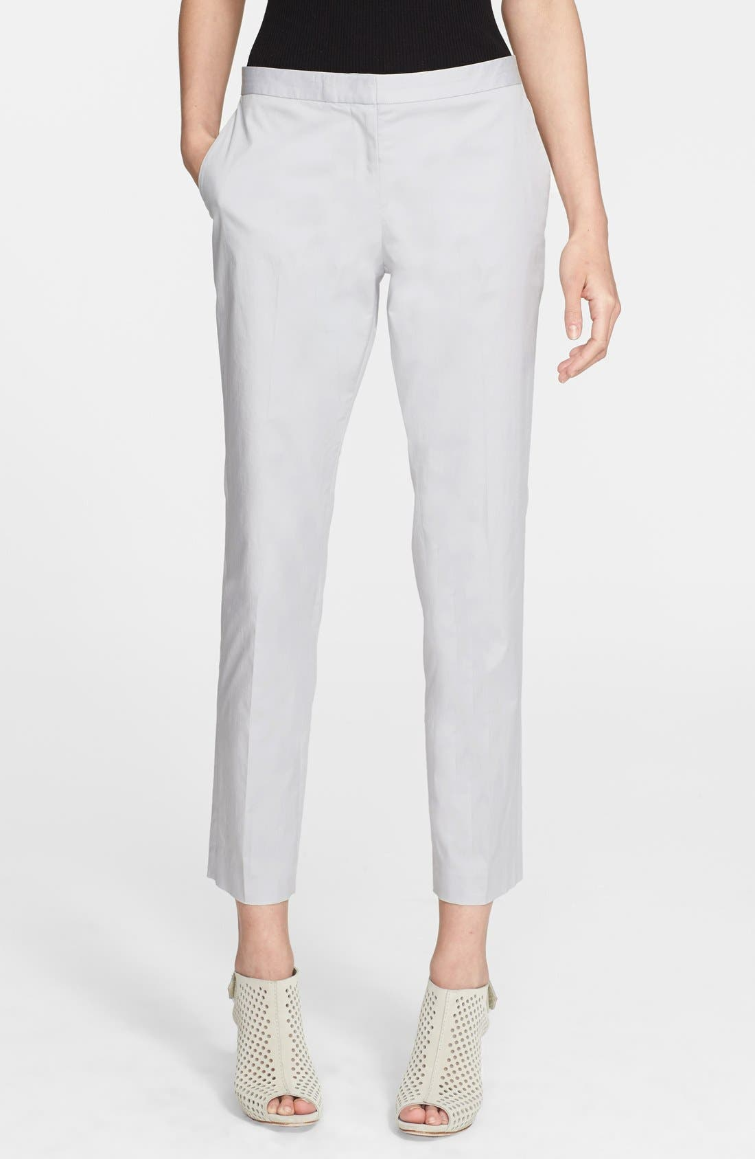 Alternate Image 1 Selected - Theory Crop Twill Pants