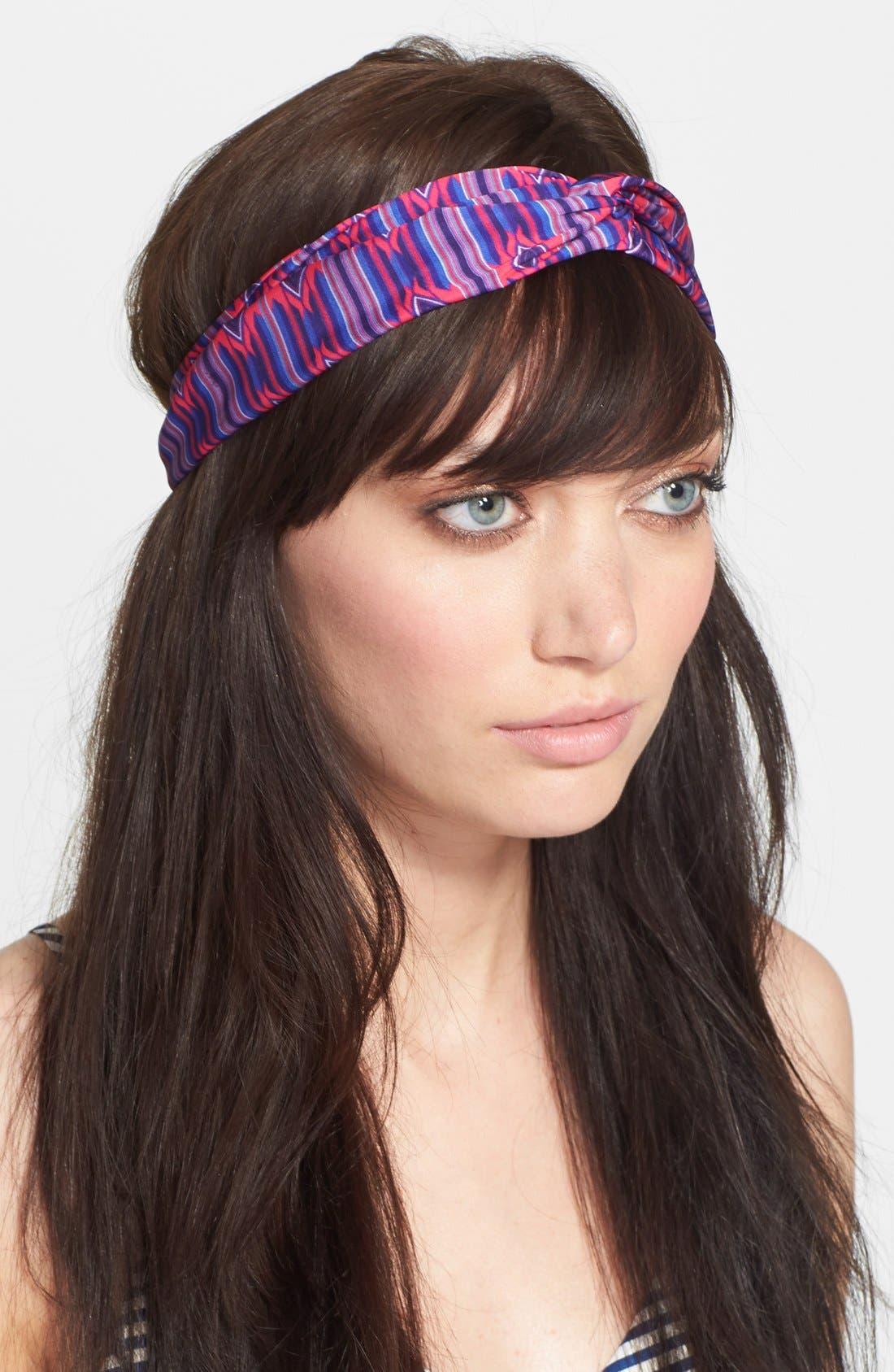 Alternate Image 1 Selected - Cara 'Twist Me' Faux Turban Head Wrap