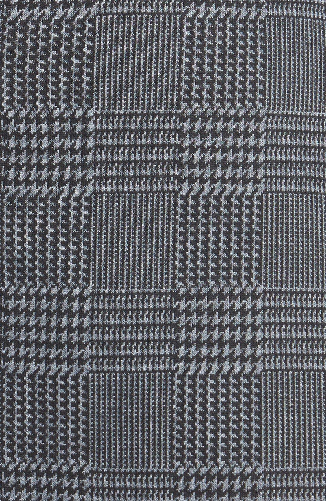Alternate Image 3  - Vince Camuto Glen Plaid Faux Wrap Miniskirt