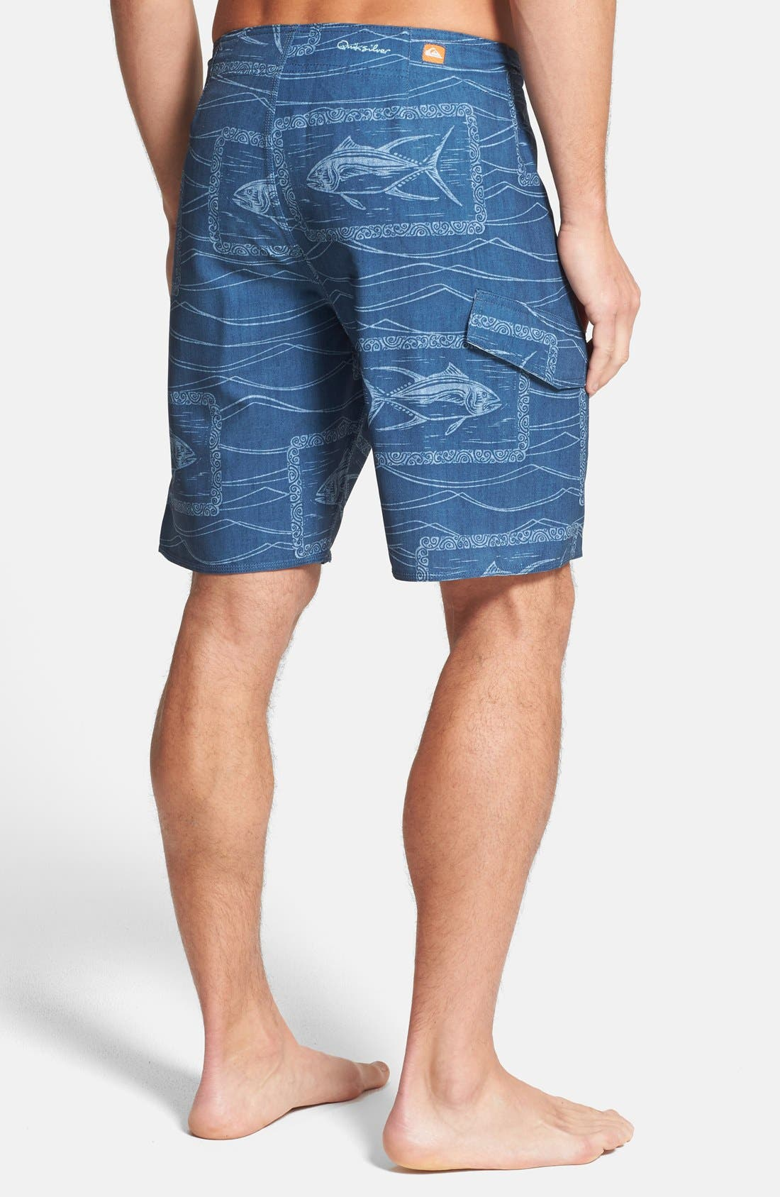 Alternate Image 2  - Quiksilver 'Swell' Stretch Board Shorts
