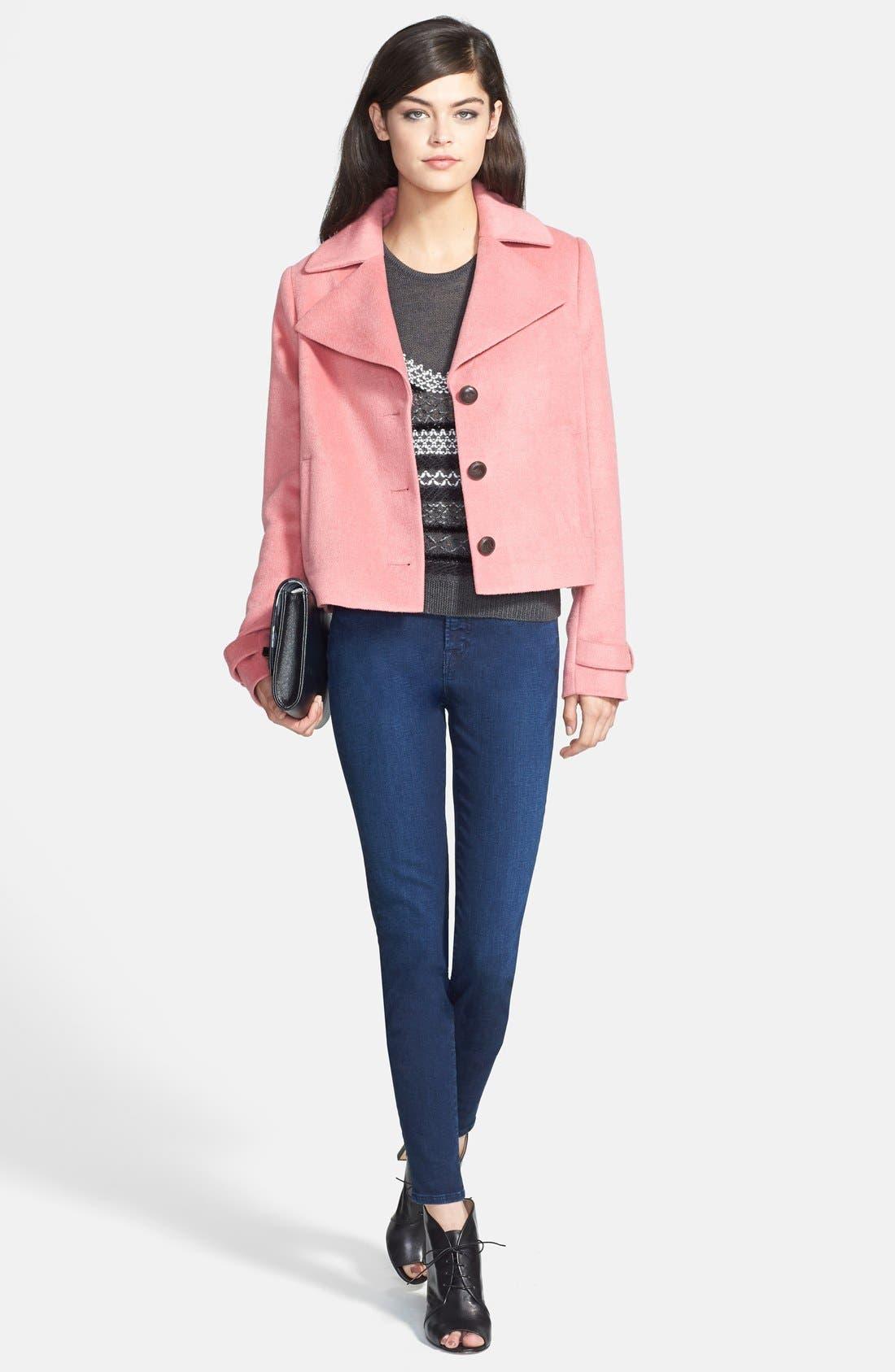 Alternate Image 9  - J Brand 'Maria' High Rise Skinny Jeans (Supreme) (Nordstrom Exclusive)