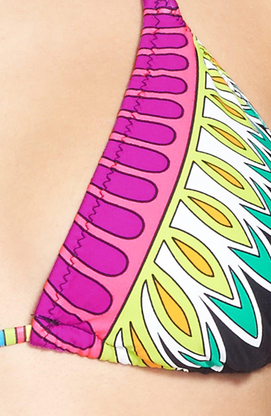 Alternate Image 5  - Trina Turk 'Plumas' Triangle Bikini Top