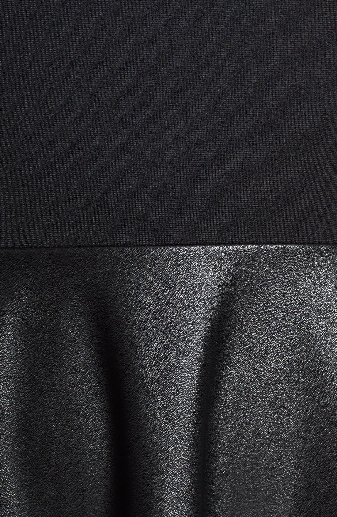 Alternate Image 3  - Lafayette 148 New York 'Mirna - Neo Tech' Dress