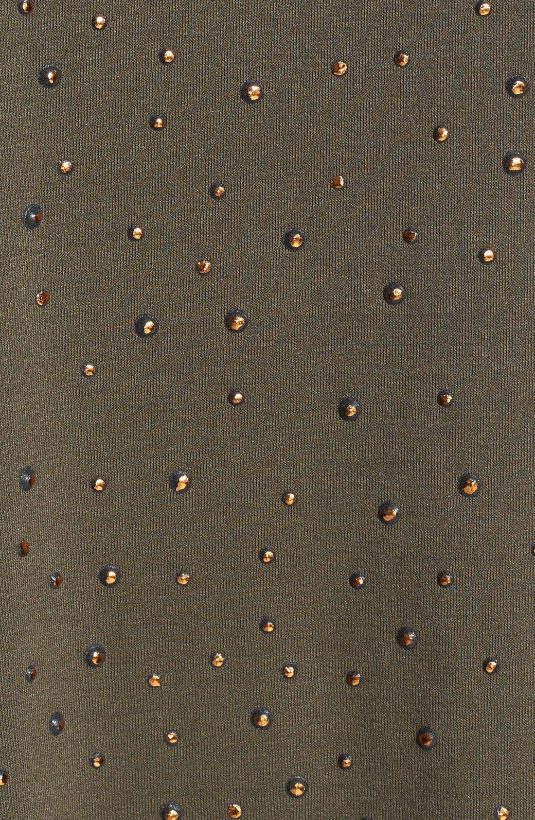 Alternate Image 3  - Bobeau Embellished Stretch Knit Tee