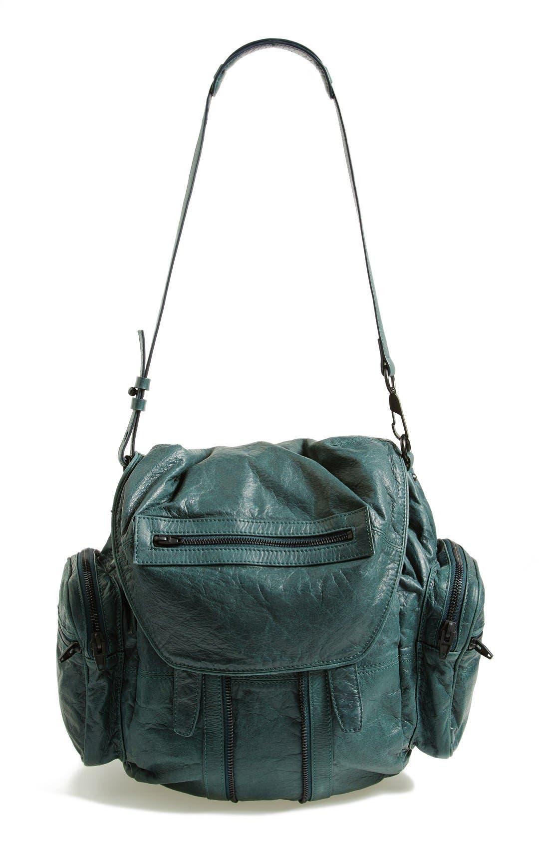 Alternate Image 1 Selected - Alexander Wang 'Marti - Rose Gold' Leather Backpack