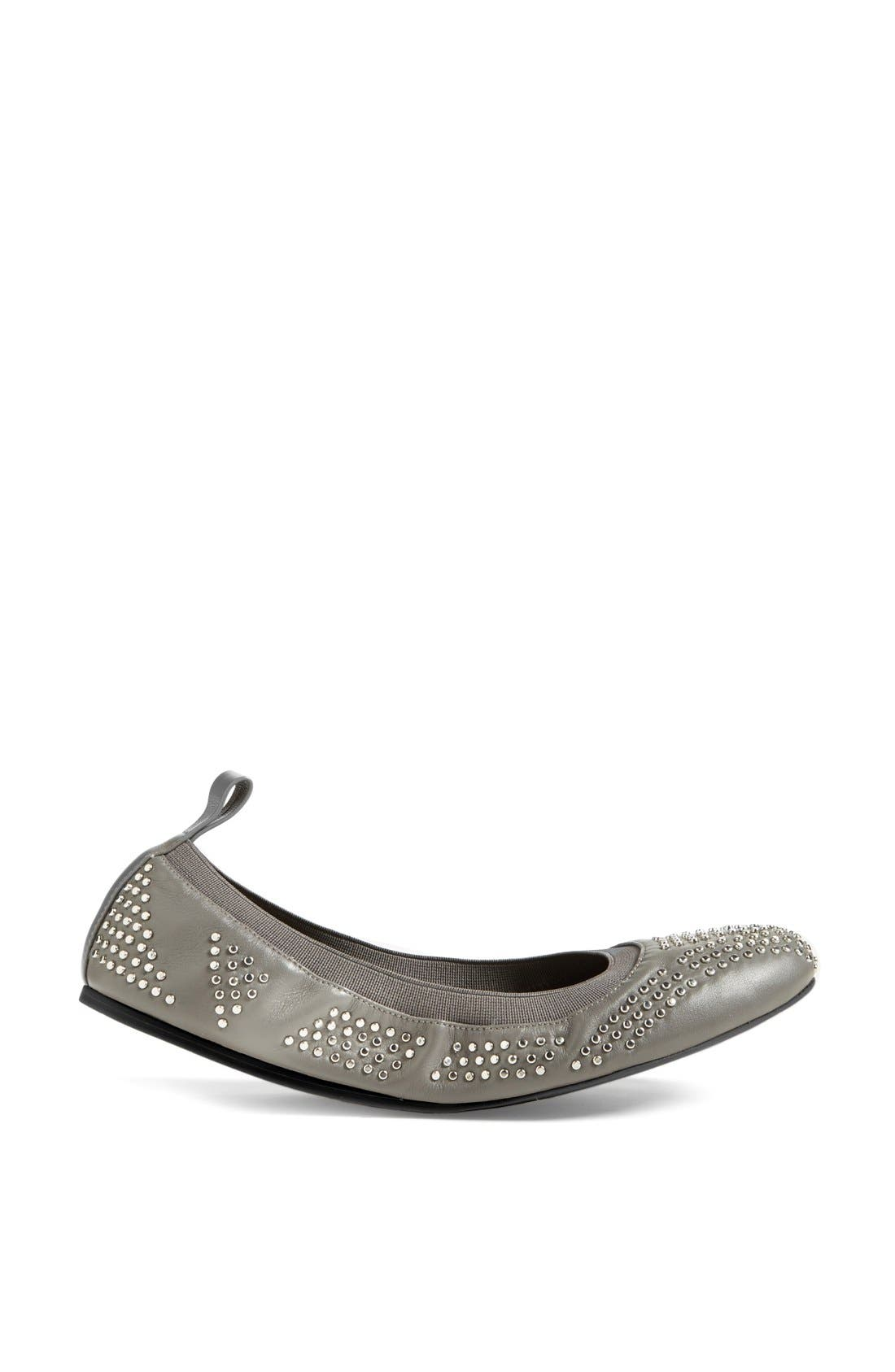 Alternate Image 4  - See by Chloé Studded Leather Ballet Flat (Nordstrom Exclusive) (Women)
