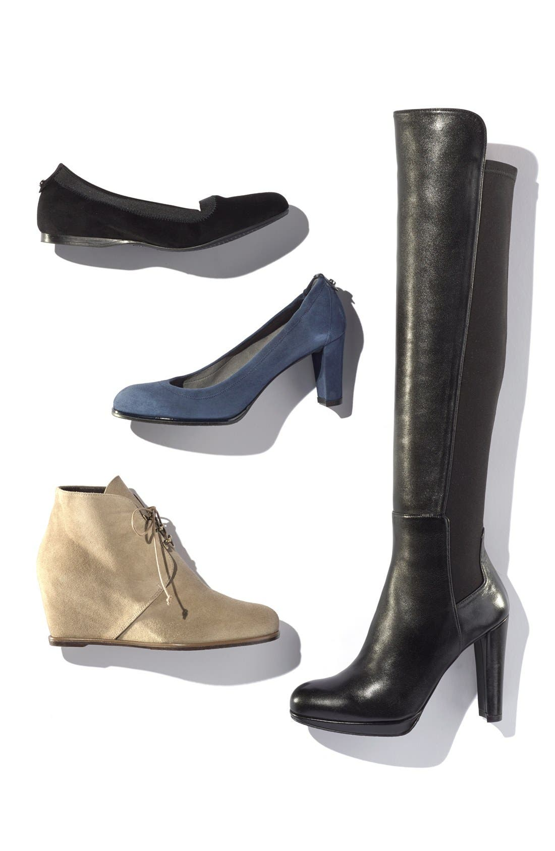Alternate Image 5  - Stuart Weitzman 'Comfort' Wedge Boot (Nordstrom Exclusive) (Women)