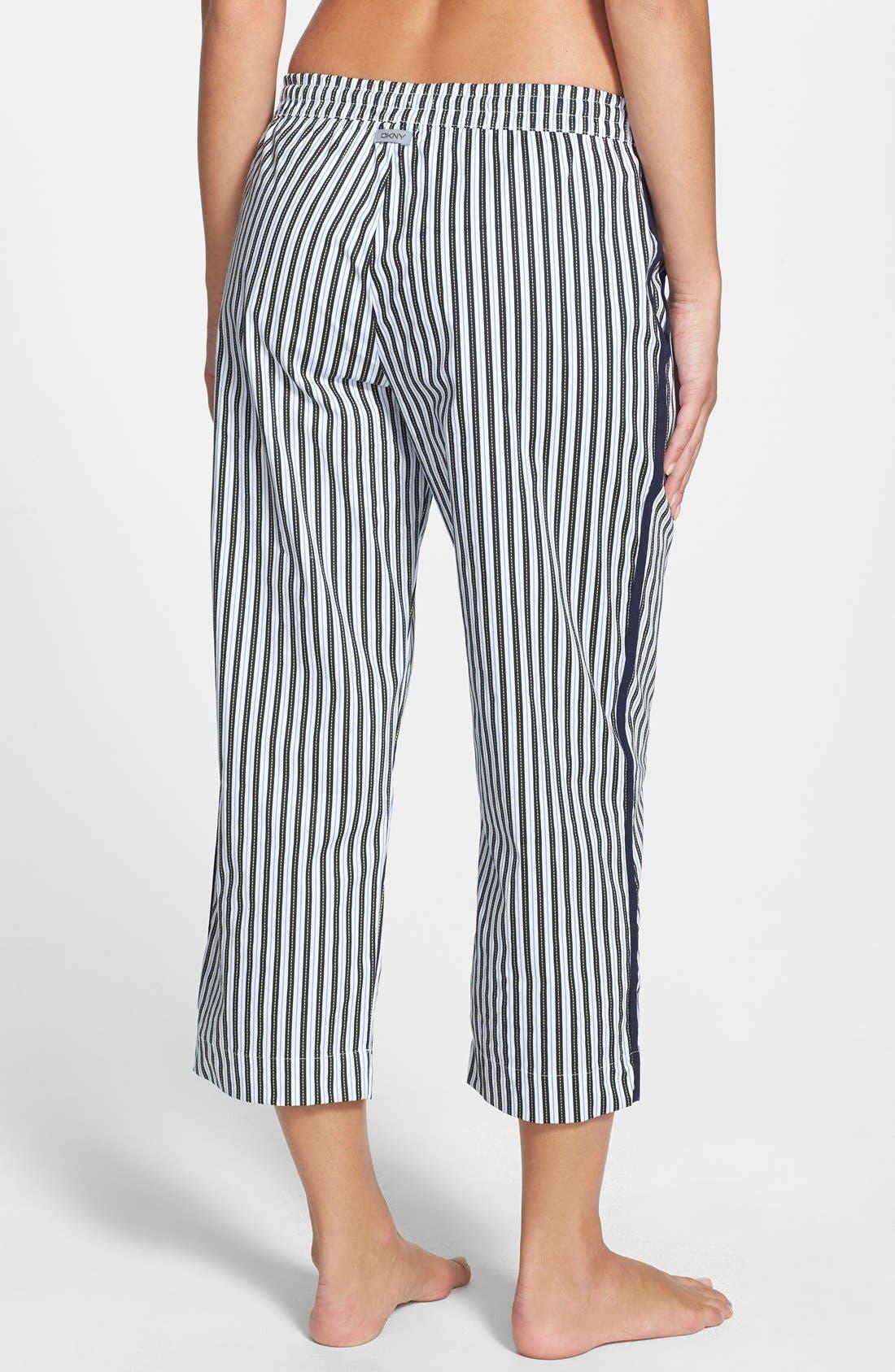 Alternate Image 2  - DKNY 'Seaside Bliss' Cotton Capri Pants