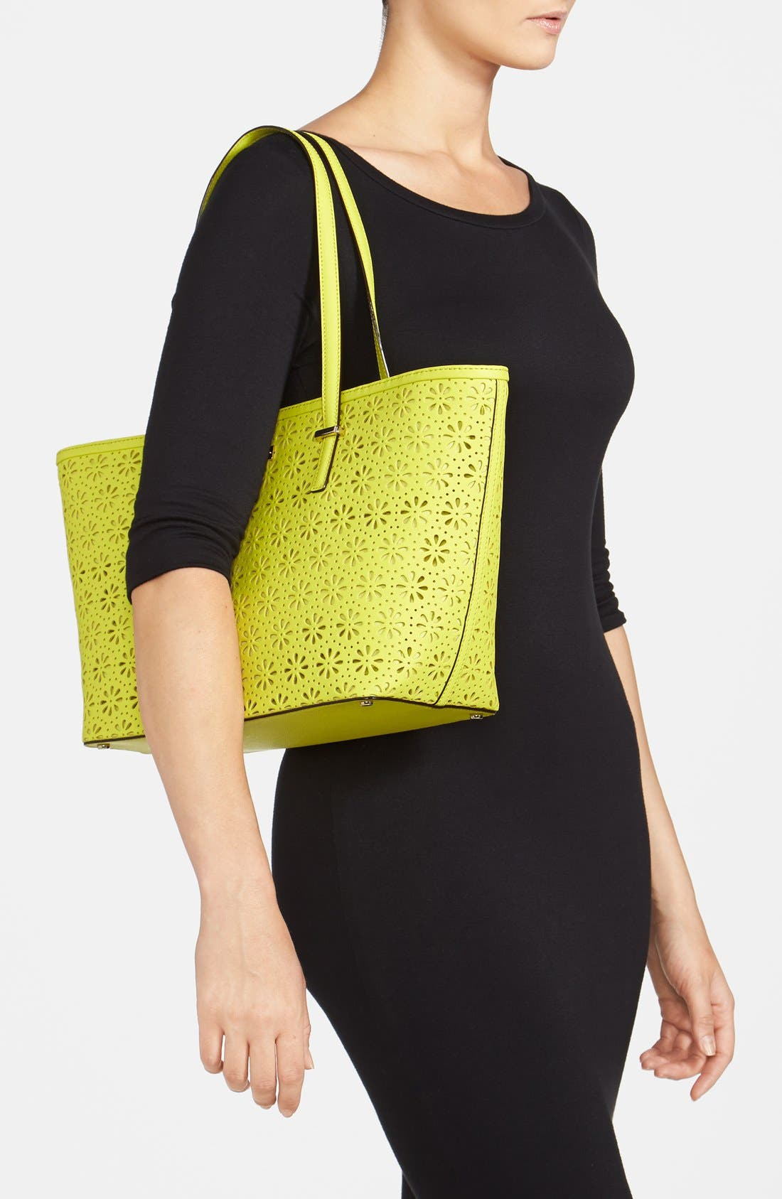 Alternate Image 2  - kate spade new york 'small cedar street - harmony' perforated leather tote