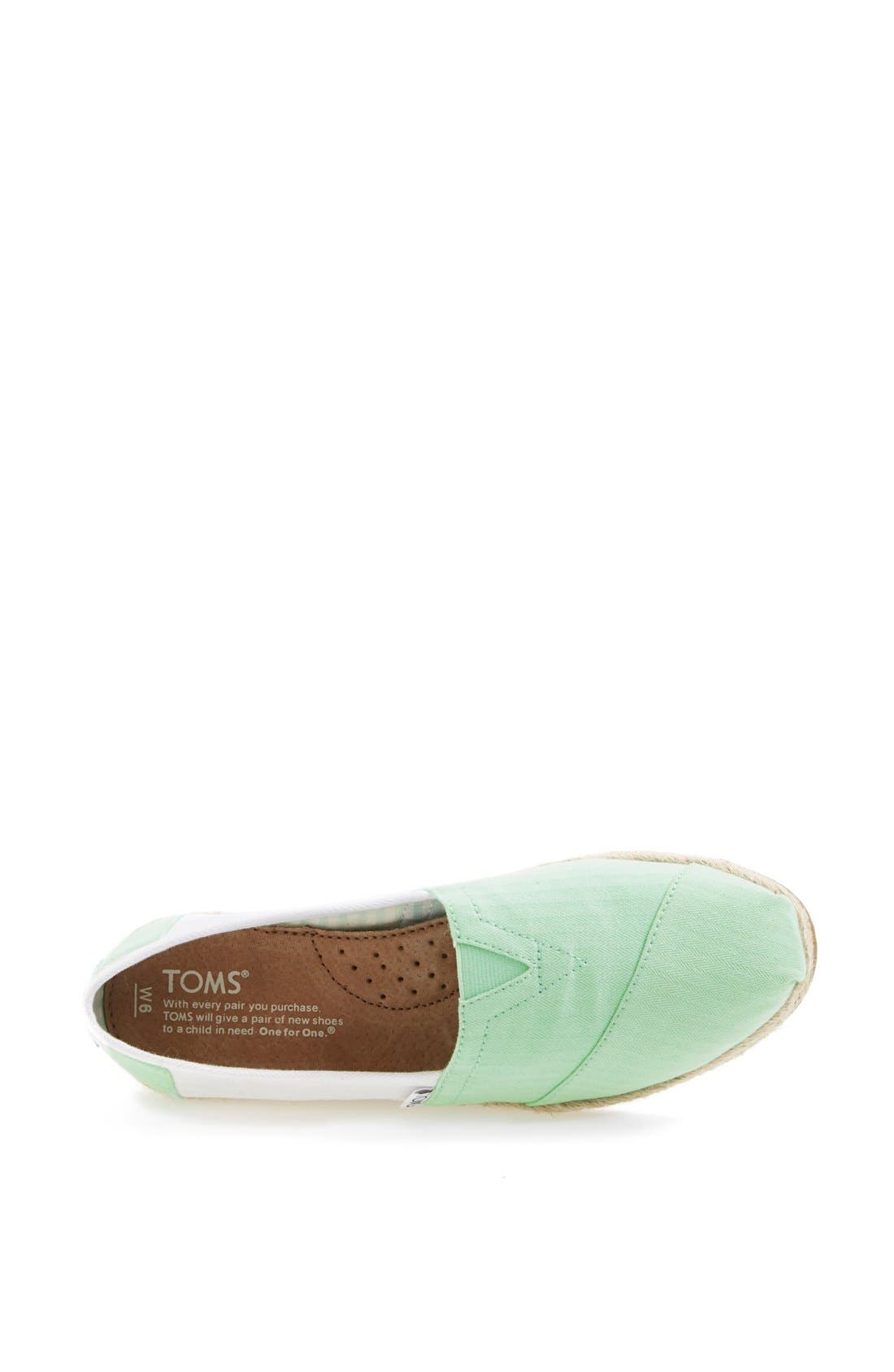Alternate Image 3  - TOMS 'Classic - Colorblock' Slip-On (Women)