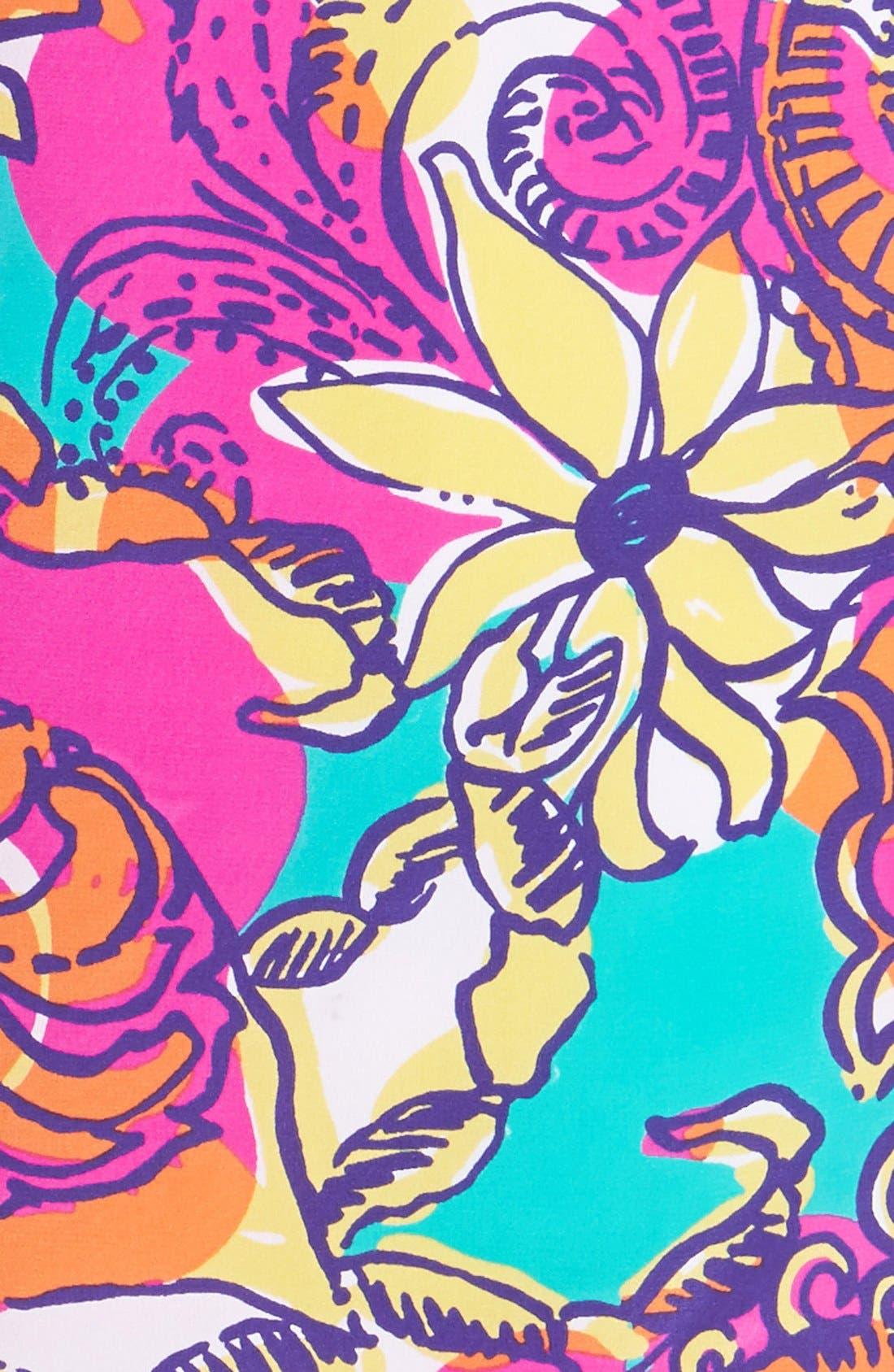 Alternate Image 4  - Lilly Pulitzer® 'Dusk' Print Silk Slipdress