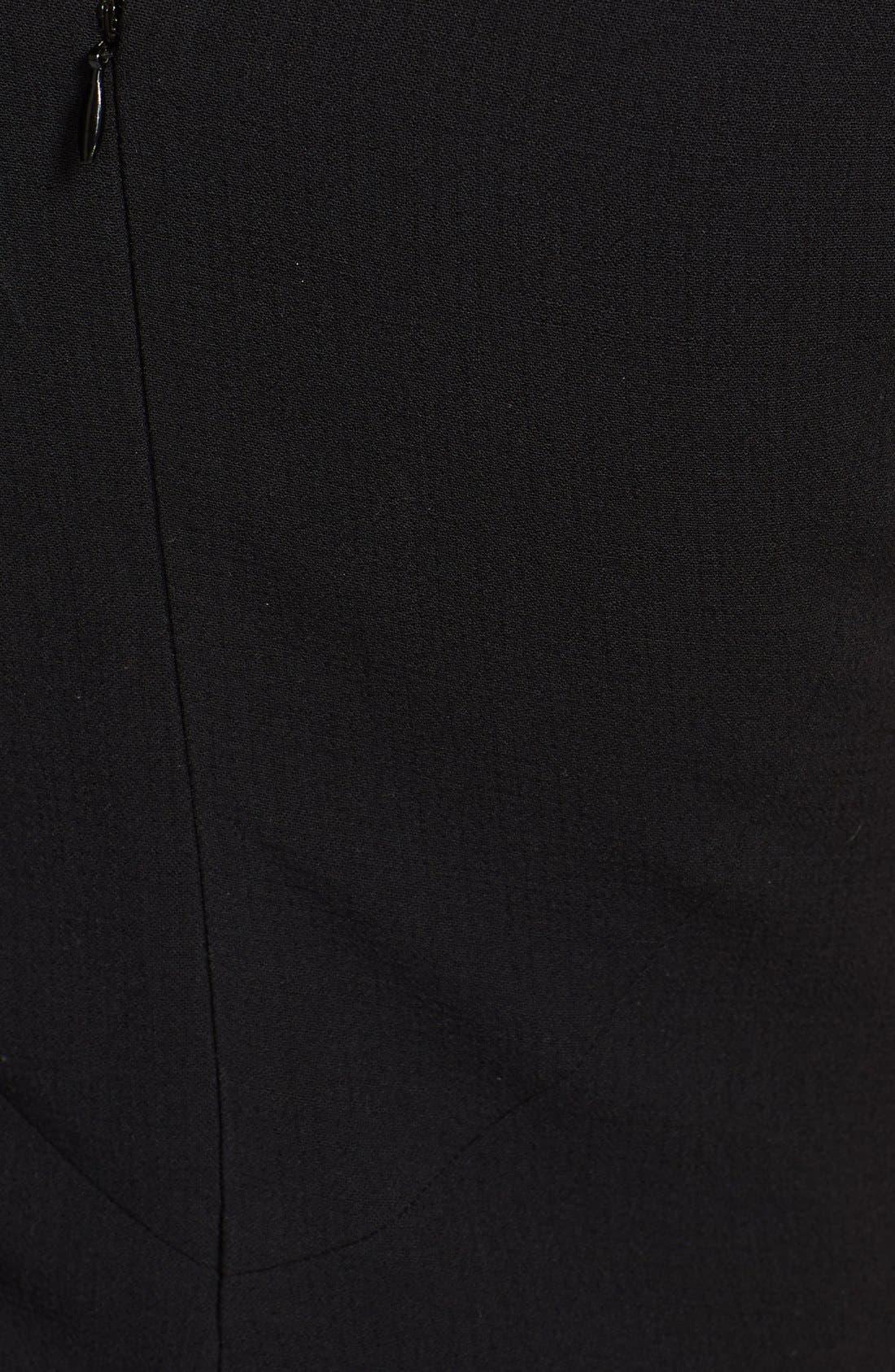 Alternate Image 3  - Emilio Pucci Ruffled Sleeve Stretch Wool Dress