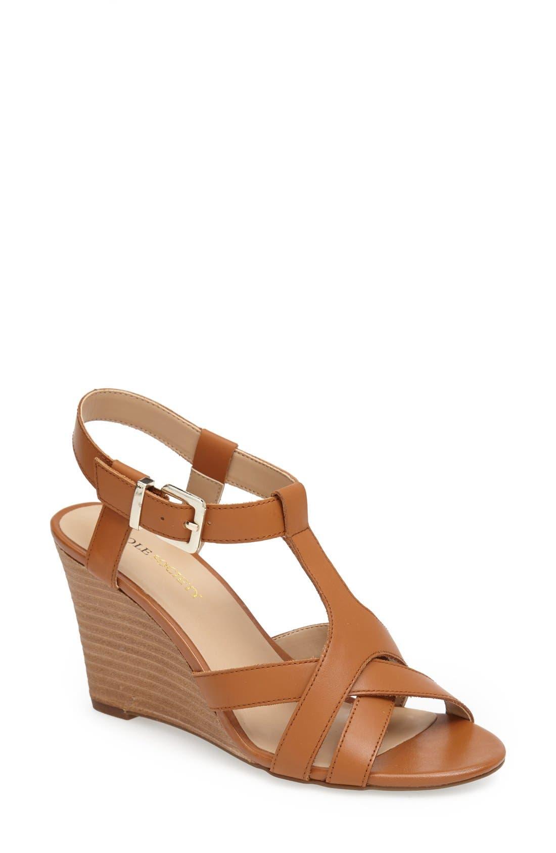 Main Image - Sole Society 'Metsey' Wedge Sandal (Women)