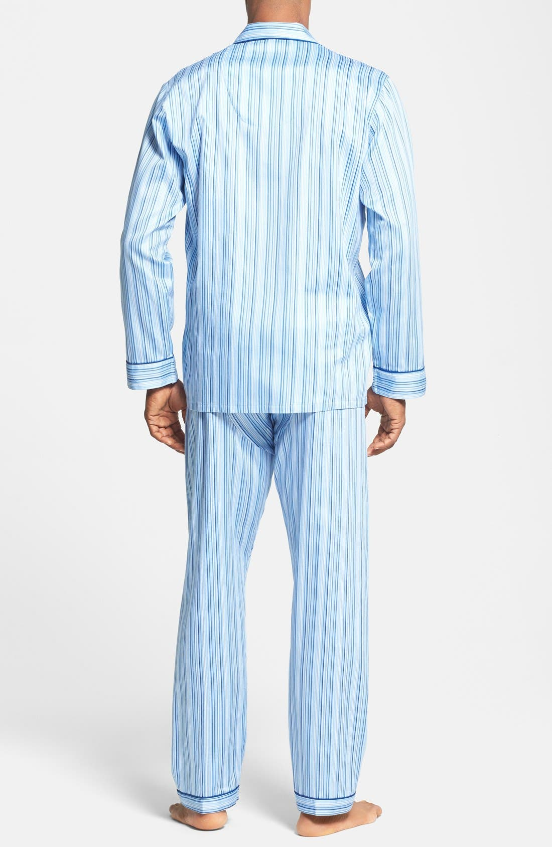 Alternate Image 2  - Majestic International Cotton Pajamas