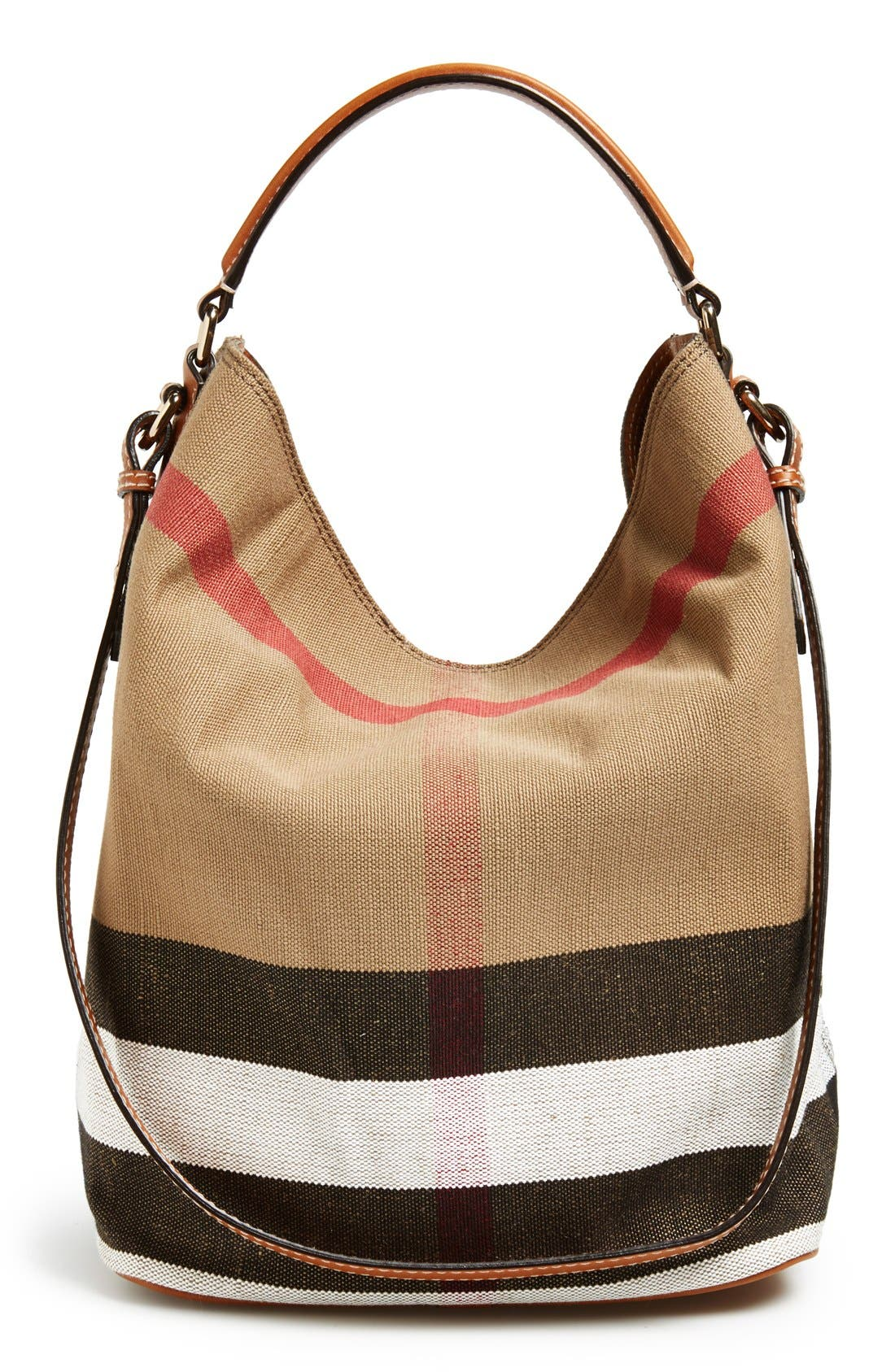 Alternate Image 3  - Burberry Medium Ashby Check Print Bucket Bag