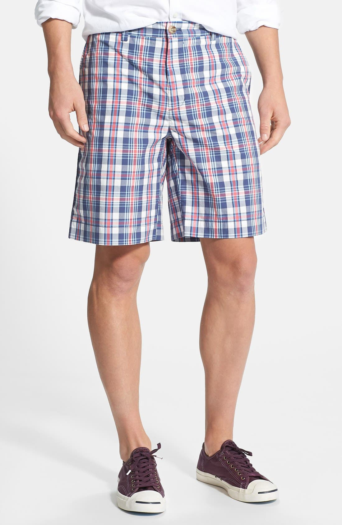 Alternate Image 1 Selected - Vineyard Vines 'Harrington' Classic Fit Plaid Shorts