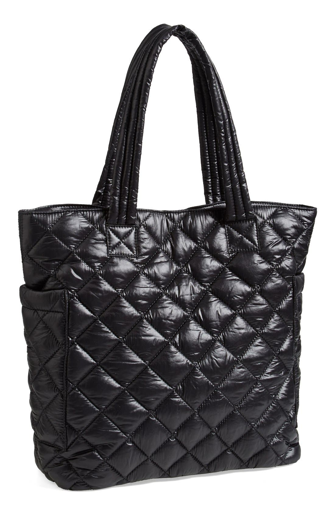 Alternate Image 1 Selected - BP. Quilted Nylon Tote (Juniors)