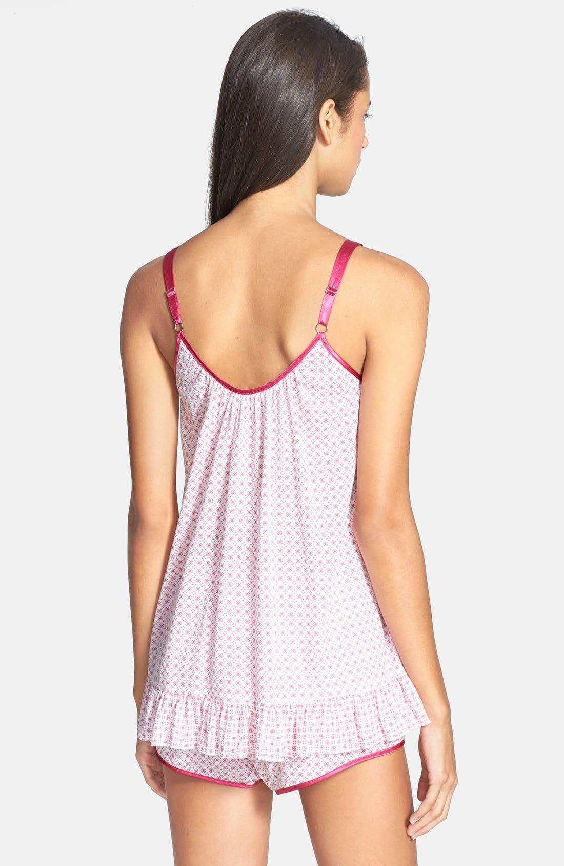 Alternate Image 2  - Oscar de la Renta 'Summer Nights' Short Pajamas
