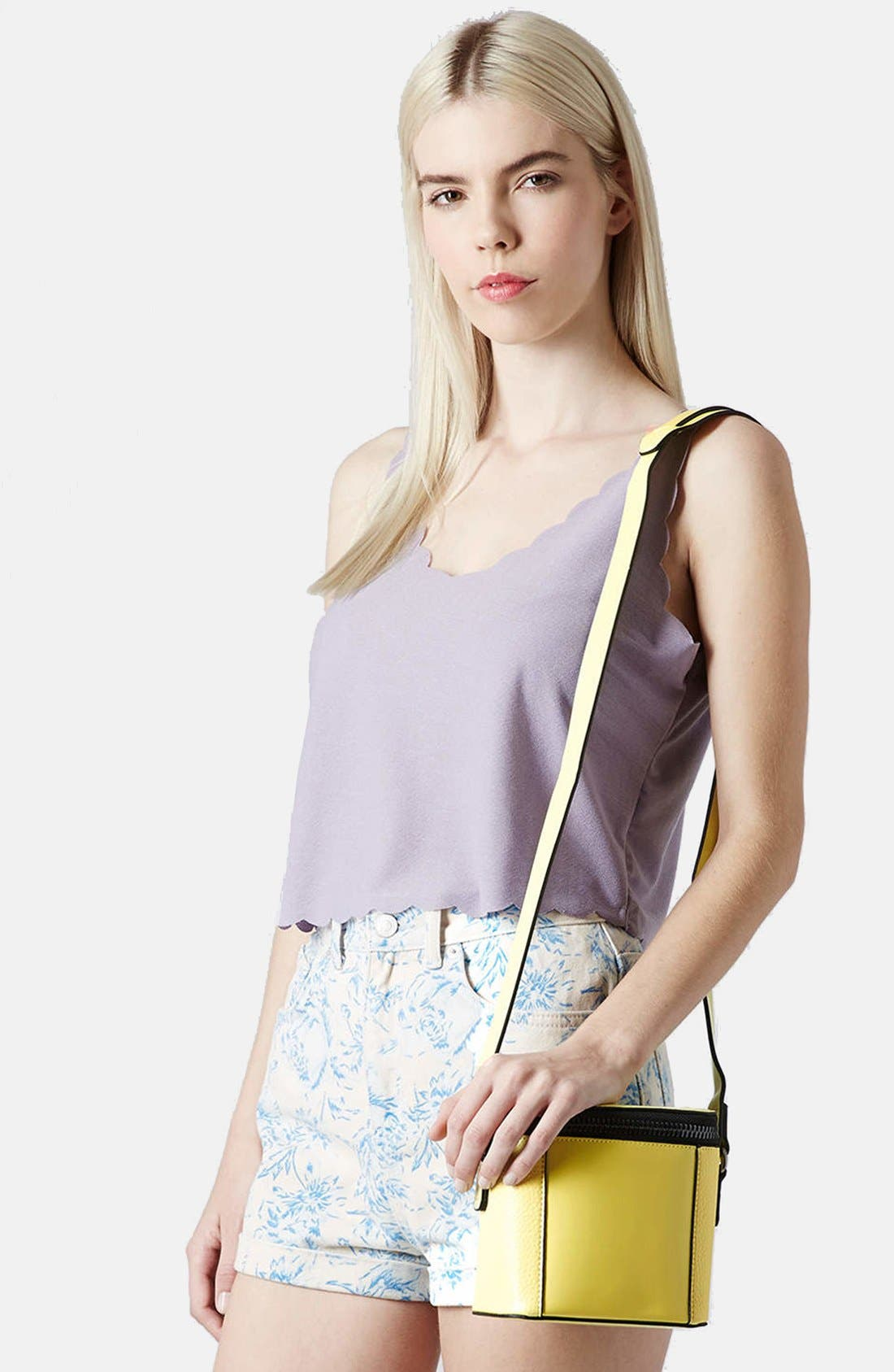 Alternate Image 2  - Topshop Mini Crossbody Bag