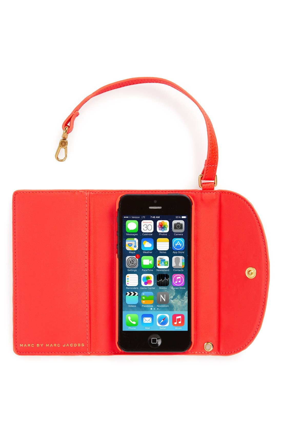 Alternate Image 2  - MARC BY MARC JACOBS 'Classic Q' iPhone 5 & 5s Case
