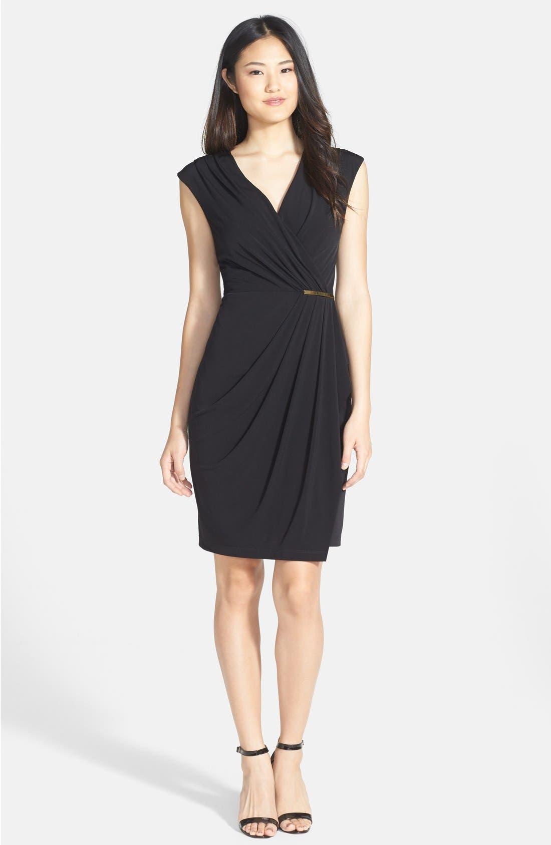 Alternate Image 3  - Ivy & Blu Side Gather Jersey Dress
