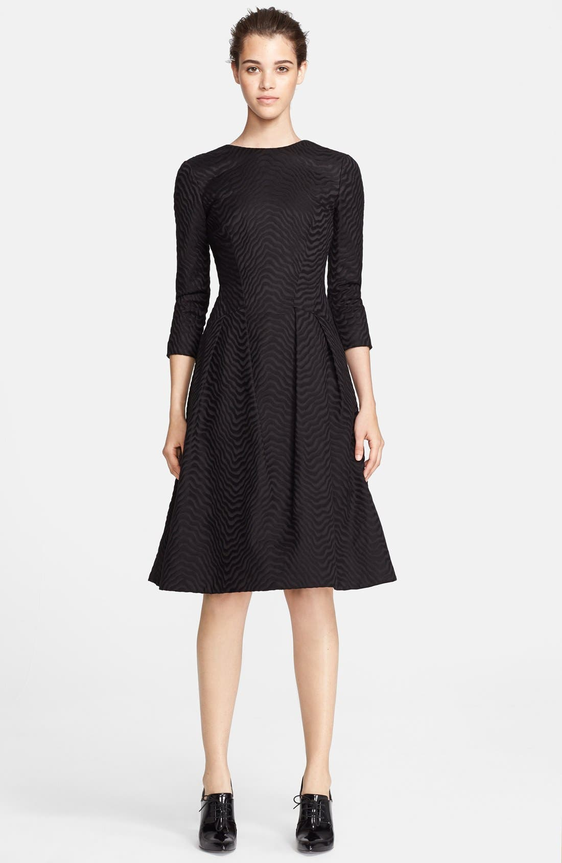 Alternate Image 1 Selected - Jason Wu Jacquard Fit & Flare Dress