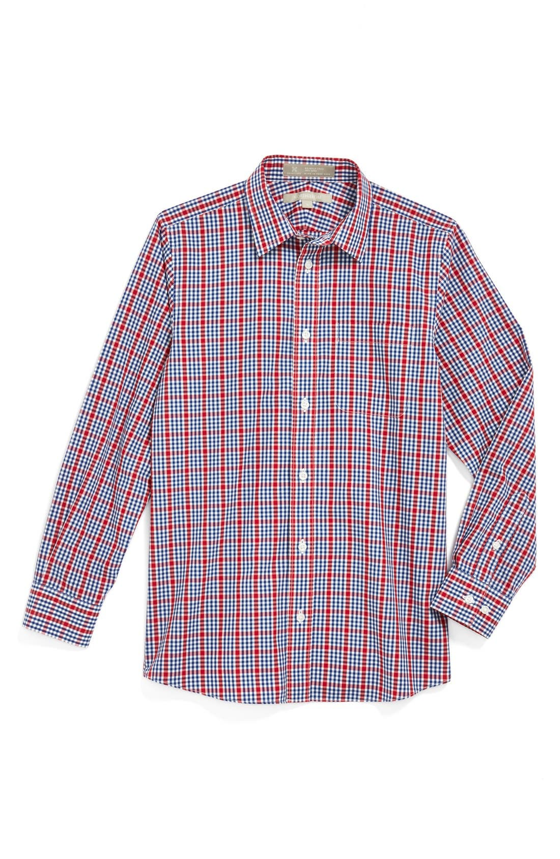 Alternate Image 1 Selected - Nordstrom Smartcare™ Dress Shirt (Big Boys)