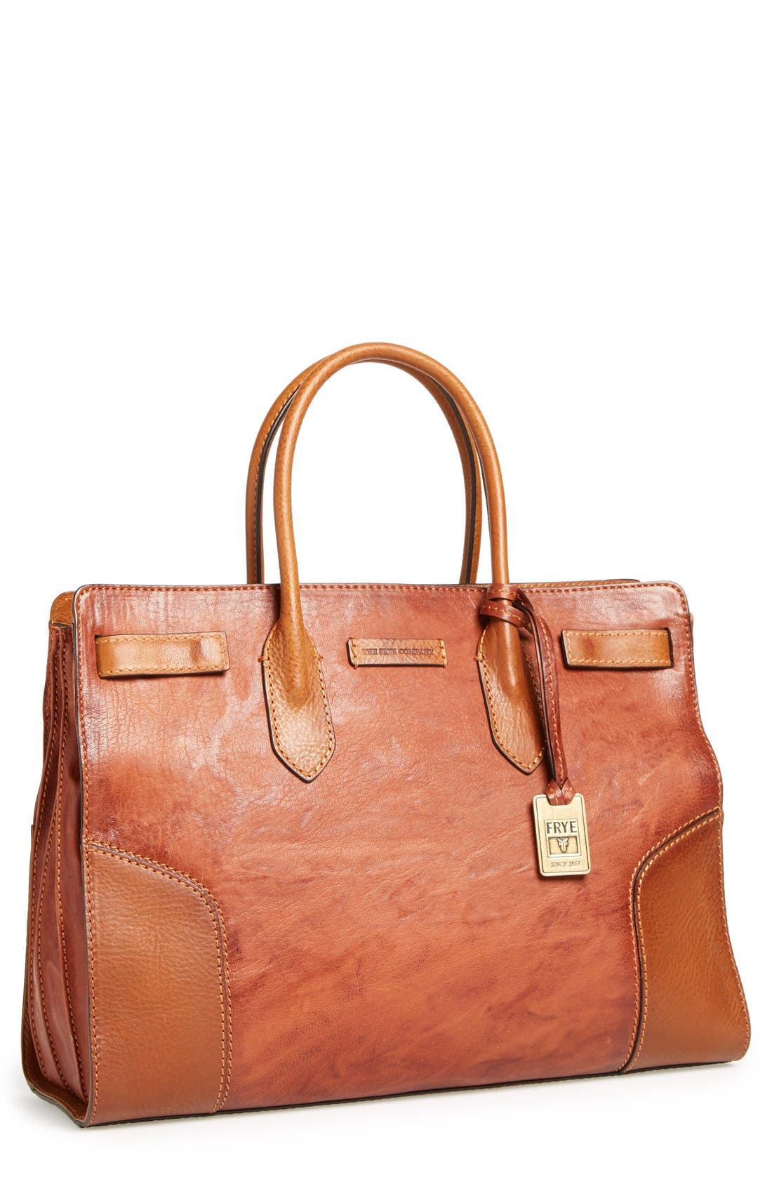 Alternate Image 1 Selected - Frye 'Michelle' Leather Work Tote
