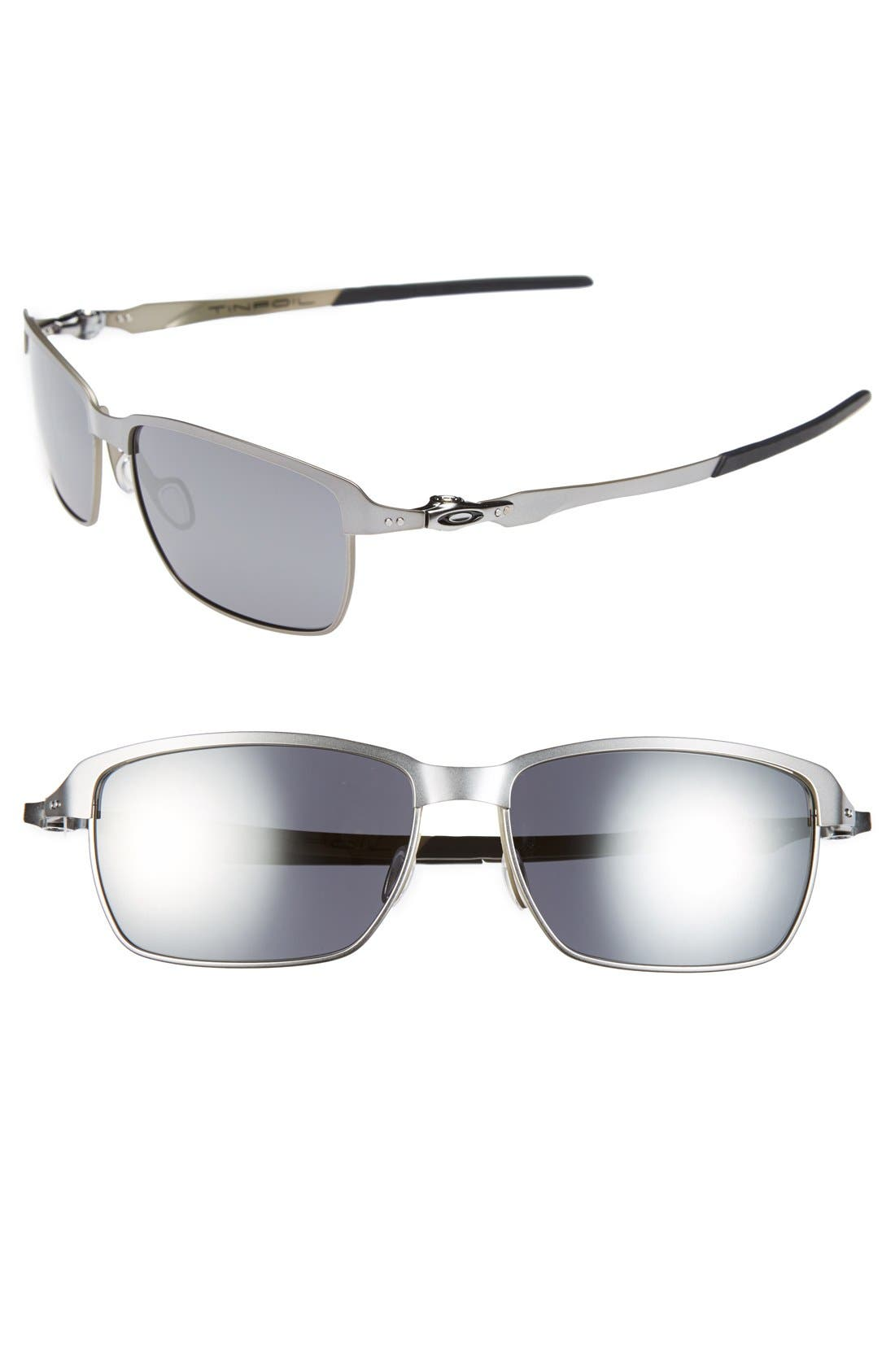 Alternate Image 1 Selected - Oakley 'Tinfoil' 58mm Sunglasses