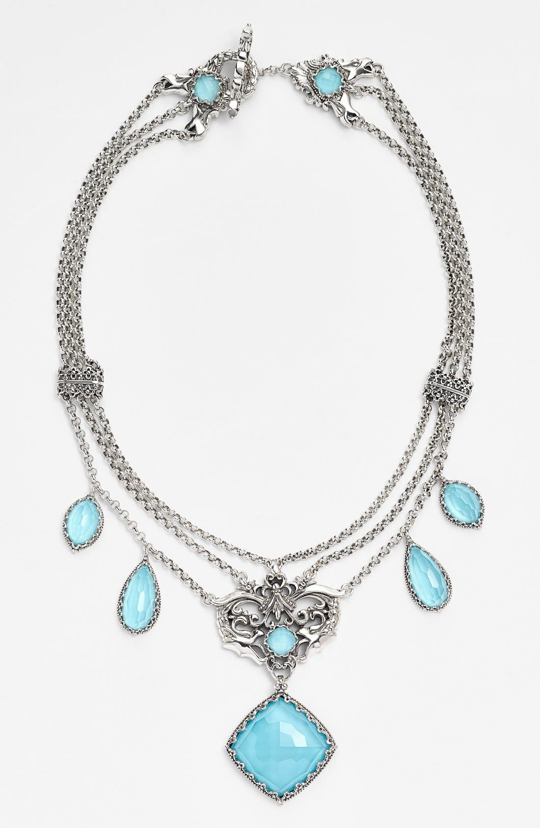 KONSTANTINO 'Aegean' Frontal Necklace