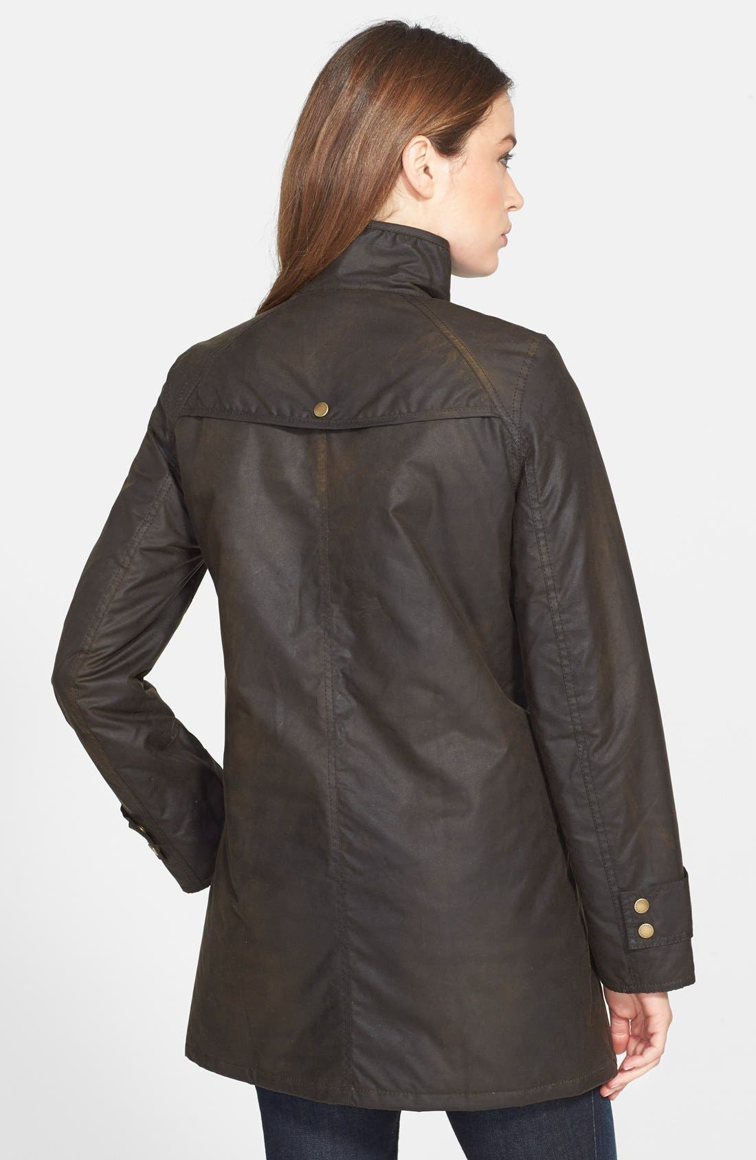 Alternate Image 2  - Barbour 'Squire' Waterproof Waxed Cotton Jacket