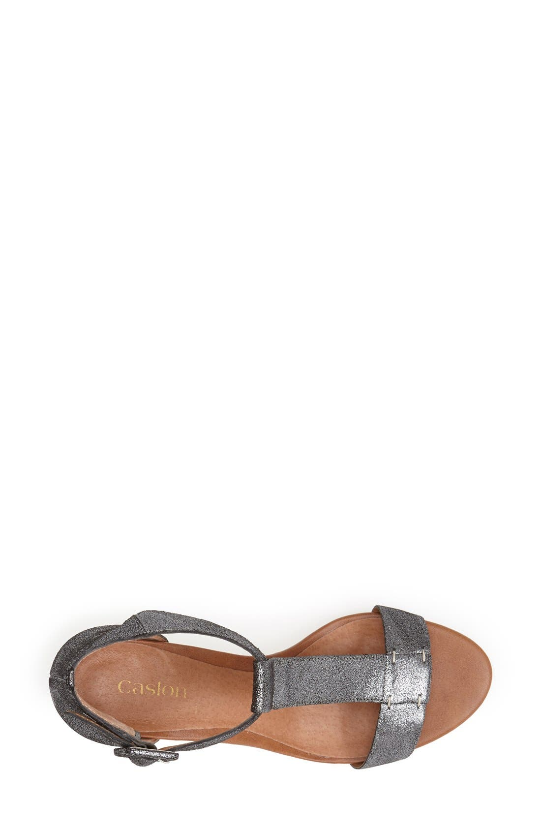 Alternate Image 3  - Caslon® 'Ramona' T-Strap Wedge Sandal