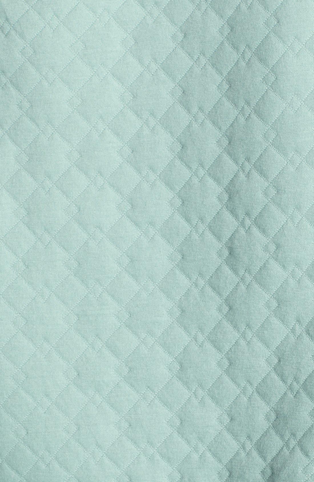 Alternate Image 3  - Halogen® Quilted Sweatshirt (Petite)