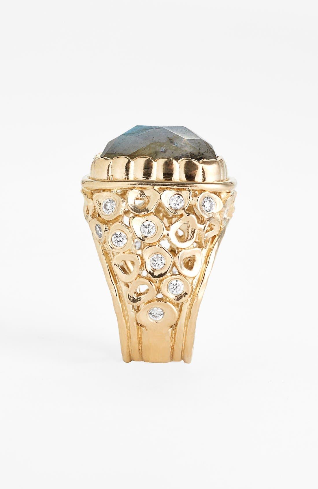 Alternate Image 2  - Melinda Maria 'Mosaic - Wally' Stone Ring