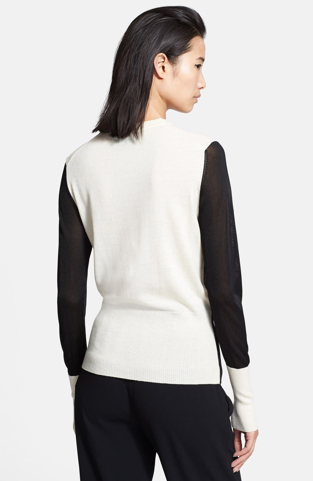 Alternate Image 2  - rag & bone 'Marissa' Colorblock Sweater