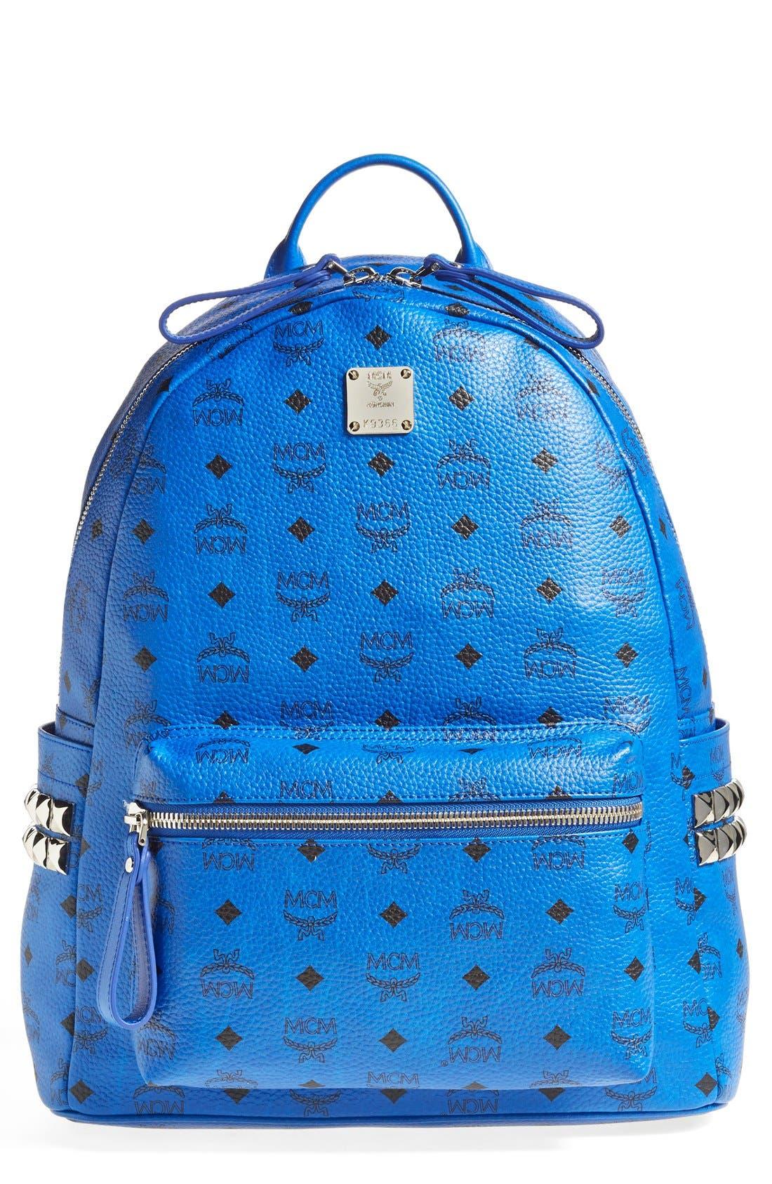 Alternate Image 1 Selected - MCM 'Medium Visetos' Coated Canvas Backpack