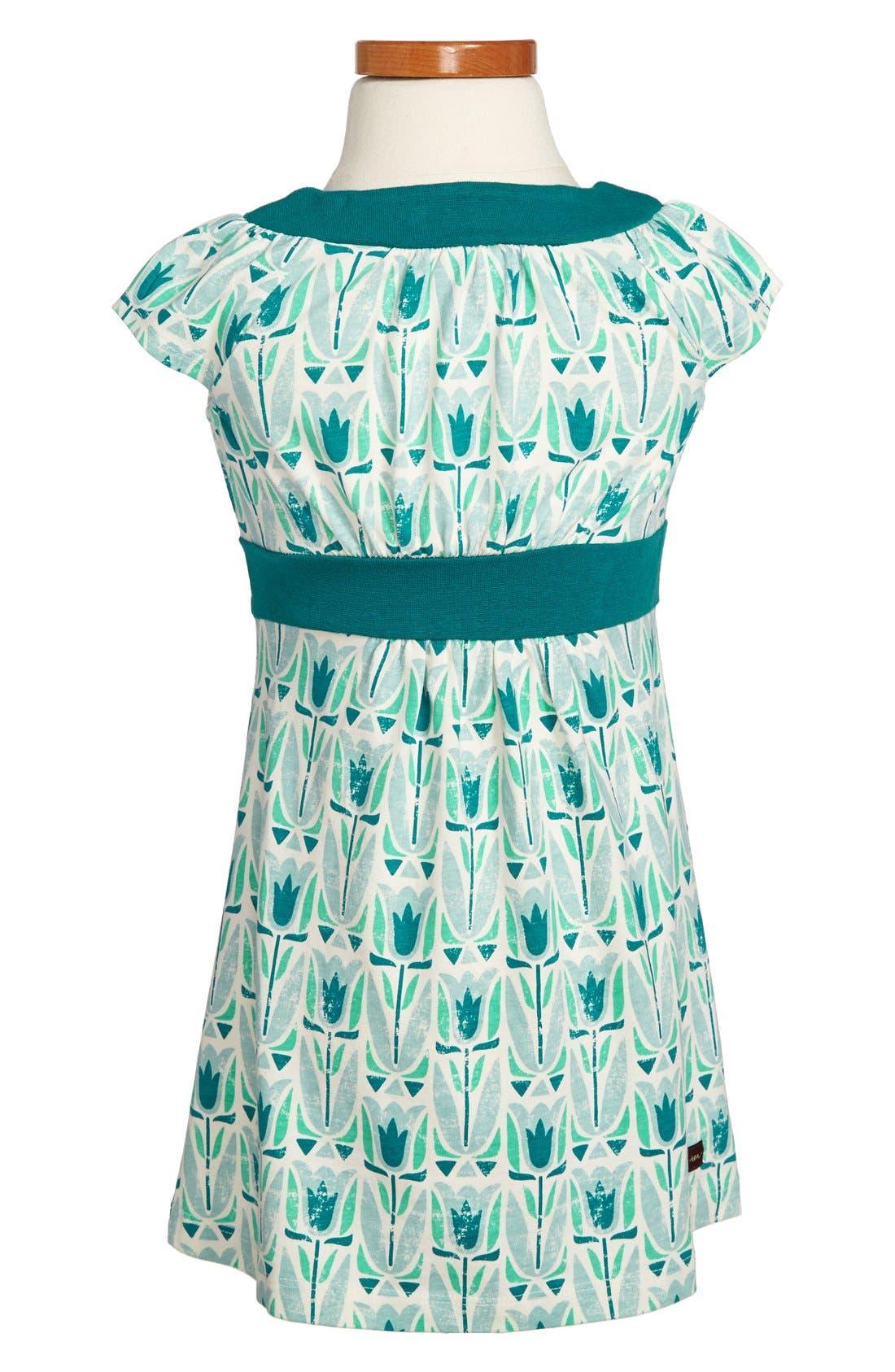 Alternate Image 2  - Tea Collection 'Mod Tulip' Dress (Toddler Girls, Little Girls & Big Girls)