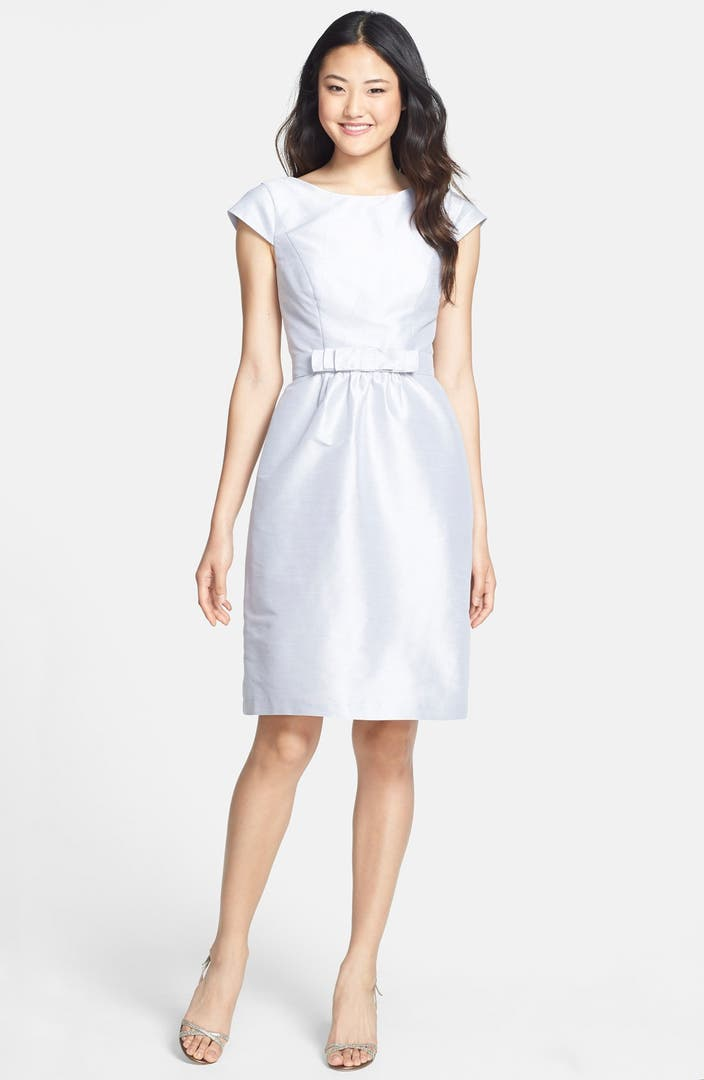 Alfred Sung Woven Fit Amp Flare Dress Nordstrom