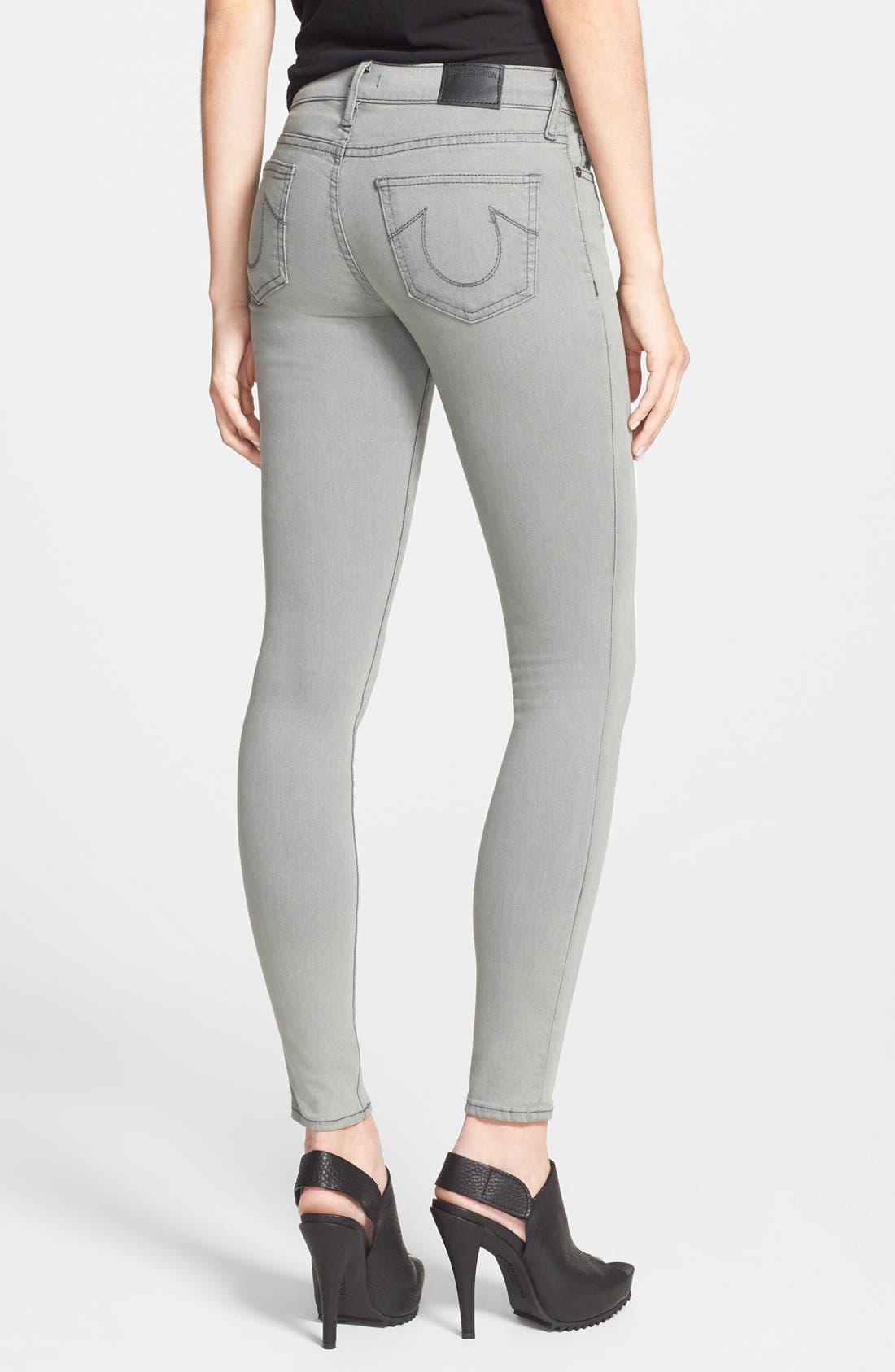 Alternate Image 2  - True Religion Brand Jeans 'Halle' Skinny Jeans (Protester's Song)