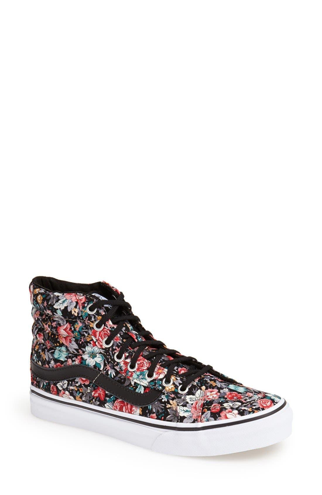 Alternate Image 1 Selected - Vans 'Sk8-Hi - Slim' Sneaker (Women)