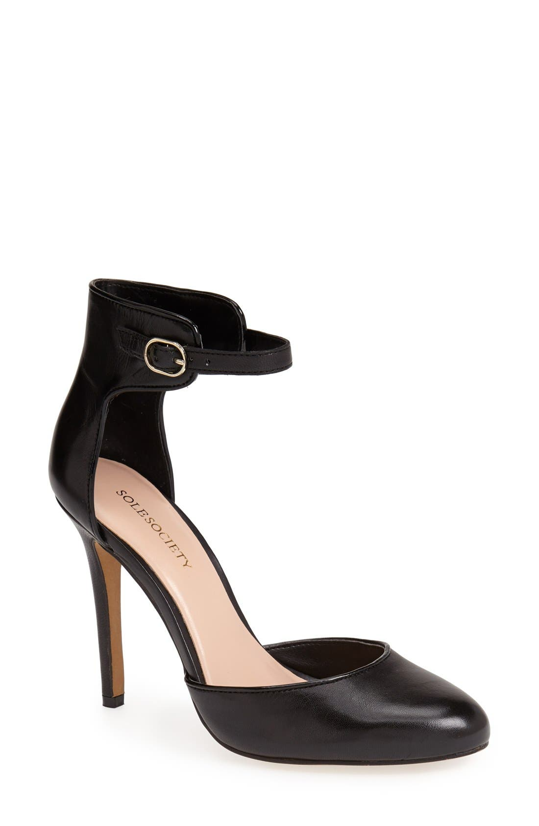 Alternate Image 1 Selected - SOLE SOCIETY RACHAEL PUMP